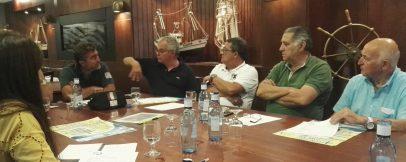Reunión de Empresarios con motivo del 4º Concurso de Espetos