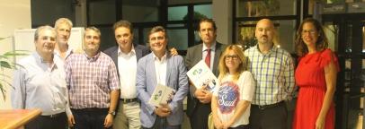 Primer encuentro oficial del CET con el Alcalde de Torremolinos