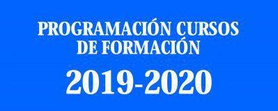 Programación de los Cursos de Formación  CET para el año 2019-2020