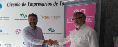 El Círculo de Empresarios firma convenio con la prestigiosa empresa Expoboda