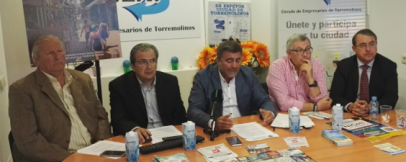 """El CET presenta en rueda de prensa el Centro Comercial Abierto """" Feel Torremolinos """""""