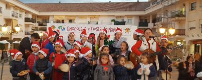 Gran éxito de la Chocolatada organizada por Círculo de Empresarios y Centro Juguete
