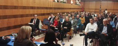 Primer encuentro entre empresarios y partido popular organizado por CET