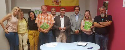 El Círculo de Empresarios se reúne con el candidato a la alcaldía de VOX