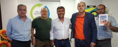 El CET se reúne con el candidato a la alcaldía de Ciudadanos por Torremolinos
