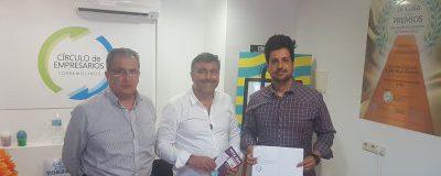 Reunión del Círculo de Empresarios con el candidato a la alcaldía de Adelante Torremolinos