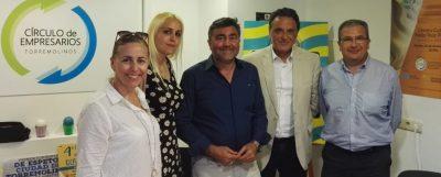 El Círculo de Empresarios se reúne con el candidato a la alcaldía del PSOE