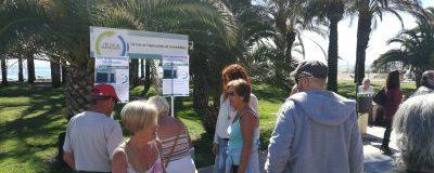 El CET recoge firmas para solicitar aparcamiento en La Carihuela y Carlota Alessandri