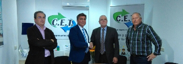 Importante firma de adhesion con la Federación de Comercio de Málaga