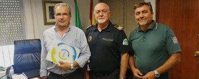 El CET se reúne con el nuevo comisario de la Policía Local de Torremolinos