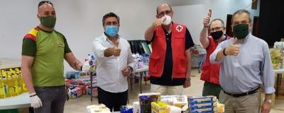 El Círculo de Empresarios dona alimentos a la Cruz Roja aportados por sus socios