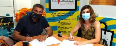El Círculo de Empresarios ha firmado un nuevo convenio con el AMPA «Pinares de la Torre».