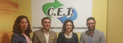 Reunión del Círculo de Empresarios con la Concejala Margarita del Cid