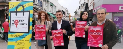 El Círculo presenta la campaña «El Comercio de Torremolinos te enamora»