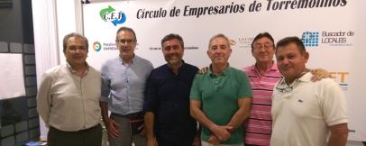 El Círculo se reune con miembros de Ciudadanos para tratar temas del municipio