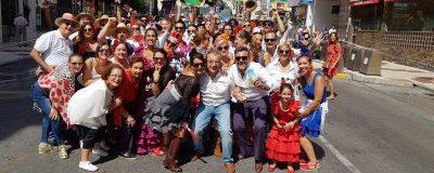 El  CET disfruta de la  ROMERÍA SAN MIGUEL Torremolinos 2019
