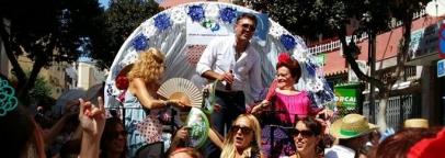 El Círculo de Empresarios con carreta en la Romería de San Miguel 2015